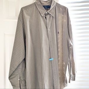 Ralph Lauren Plaid Button Down Shirt - 2XL Big
